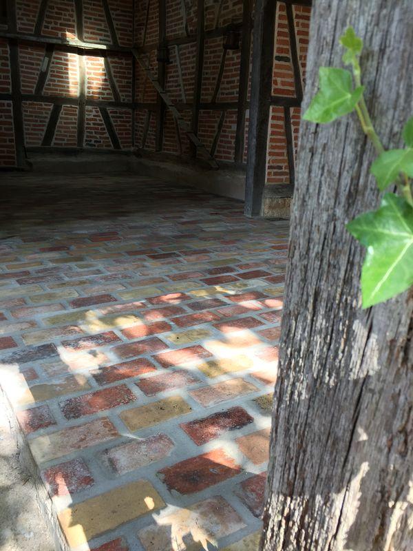 Terrasse en tomettes Louhans 71